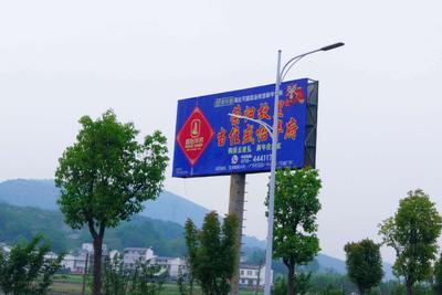 广告位招商——位于宝丰至高速入口一级路